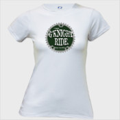 G'Knight Ride Color - Vapor Ladies Slim Fit Performance Tee