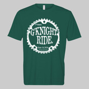G'Knight Ride White - Unisex or Youth Ultra Cotton™ 100% Cotton T Shirt